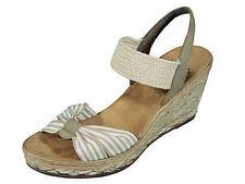 Rieker Sandalen und Badeschuhe mit Keilabsatz für Damen