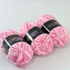 AIP Soft Baby Cotton Yarn New Hand dyed Wool Socks Scarf New Knit 3Skeinsx50g 01