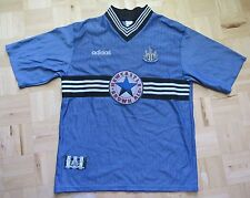 NEWCASTLE UNITED away shirt jersey ADIDAS 1996-1997 The Magpies /adult/ SIZE XL