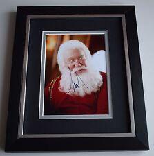 Tim Allen SIGNED 10x8 FRAMED Photo Autograph Display Santa Clause Film AFTAL COA