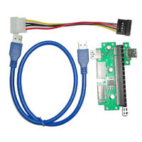 PCI-E X1 to X16 Extension Cable PCIE USB3.0 Graphics Display Cable Wire
