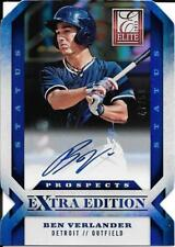 Ben Verlander - 2013 Panini Elite Extra - Detroit Tigers - #47/50 - AUTOGRAPH