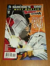 SUICIDE SQUAD MOST WANTED DEADSHOT AND KATANA #5 DC COMICS