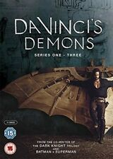 DA VINCI'S DEMONS 1-3 (2013-2015) COMPLETE Leonardo TV Season Series NEW Rg2 DVD