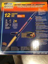 Estes Wizard Bulk Pack 12 Flying Model Rockets