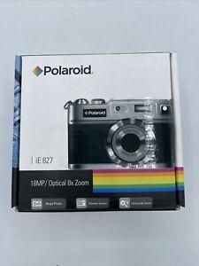 Polaroid Camera iE 827 18 MP Black Retro New/Open Box