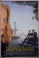 BARCELONA ROLLED ORIG 1SH MOVIE POSTER WHIT STILLMAN TAYLOR NICHOLS (1994)
