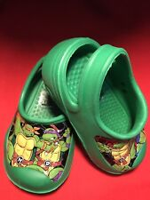 Teenage Mutant Ninja Turtle Toddler Size 5/6 Clog/Crack Type Slip On Shoe/sandal