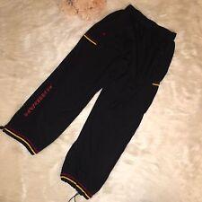 Nike Jordan Vintage Black Warmup Track Pants Men's Sz XL DrawString Athletic
