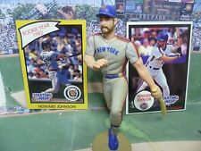 """1990  HOWARDJOHNSON - Starting Lineup -SLU- Loose With """"TWO"""" Cards - N.Y. Mets"""