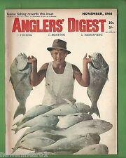 #BB5. ANGLER'S DIGEST, NOVEMBER 1966