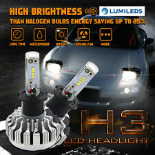 180W H3 LED Headlight High Low Beam Conversion Kit 18000LM Fog Light For Subaru