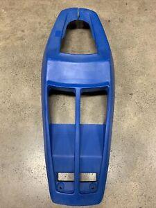 87-90 SUZUKI QUADRACER LT500R FRONT FENDER PLASTIC FAIRING COWL BLUE OEM STOCK