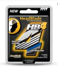 HeadBlade HB4 Four Blade Refill Blades Replacement Sport Ghost Classic ATX S4