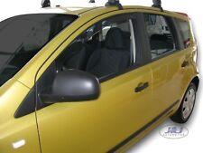NISSAN NOTE 5 door 2006-2012 Front wind deflectors 2pc set TINTED HEKO