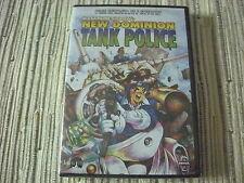 DVD MANGA NEW DOMINION TANK POLICE MASAMUNE SHIROW SERIE COMPLETA NUEVO