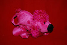 Plush Poodle Girl's Purse Hand Bag Doggie Puppy Pup Pink  Free Shipping