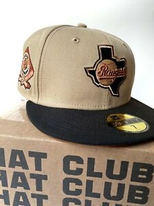 Texas Rangers Exclusive Size 7 3/4 Rust Bronze UV Non Hat Club Myfitteds