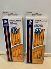 Staedtler Essentials 2 Hb Yellow Pencils 40 Count Witheraser 13251c20a6 New