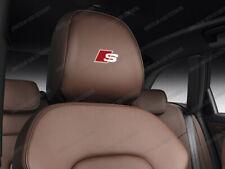 6 x Audi S-line Stickers for Headrests A1 A3 A4 A5 A6 S3 TT Q2 Q3 Q5 S3 S4