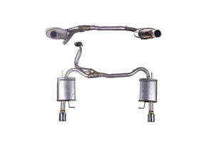 Exhaust Rear Box Hyundai Coupe 1.6 Petrol Coupe 01//2005 to 03//2007