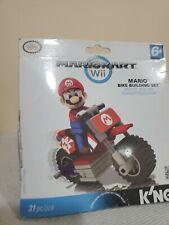 K'Nex MarioKart Wii Mario & Standard Bike Set #38001 31 pcs, Sealed, Worn Box