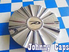 "UNKNOWN ""P"" Wheels [79] Chrome Center Cap # HARMONY Custom Wheel Hub Cap (1)"