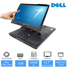 "Dell Latitude XT2 - 12.1"" 2-in-1 Laptop/Tablet Intel Core Duo, 2GB RAM, 64GB SSD"