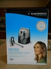 Plantronics CS70N/HL10 Silver Ear-Hook Headsets