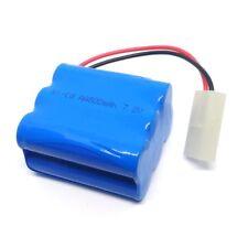 7.2V 800mAh Ni-Cd AA Battery Pack KET 2P Plug for HengTai 3827 2879 3832 RC Boat