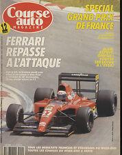 COURSE AUTO n°11 02/07/1991GP FRANCE Rallye NOUVELLE ZELANDE LOTUS ELAN & ESPRIT