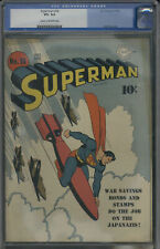 D.C. Comics Superman #18 CGC 8.5 Cream to Off-White Pages VF+