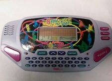 TIGER ELECTRONICS HAND-HELD NAME THAT TUNE TRAVEL GAME with music cartridge
