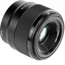 Sony FE 50 mm f1.8 Sony E-Mount, Nero, sel50f18f * Foto rivenditori *