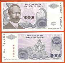 P155  Bosnien  Herzegovina  1 Million  Dinara  1993  UNC