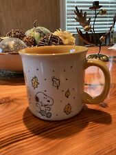 SNOOPY / PEANUTS GANG FALL COFFEE MUG SNOOPY LARGE MUG