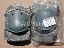 US Army New ACU Digital Camo Heavy Duty Knee Pad Work Paintball Airsoft L USGI