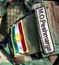 Iraq-Syria کورد Anti-Daesh Fighter vel©®Ø Set: PESHMERGA پێشمەرگە + Kurdish Flag