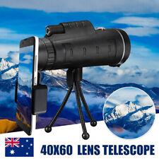 Monocular 40X60 Camera Lens Telephoto Telescope +Phone Holder + Tripod 🇦🇺  a