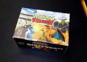 N64 - Pokemon Stadium - PAL in OVP inkl. Transfer Pak