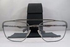 Prada VPR 58Q QE8-1O1 Gunmetal Camouflage Authentic Eyeglasses 55mm w/ Case