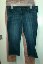 Lot of 2 Pair American Eagle Capris Denim Blue Jeans Womens 10 All Categories