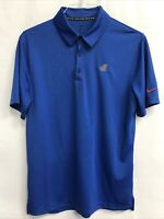 🌴Nike Florida Gators Men's M Medium Blue Short Sleeve Collared Polo Shirt🌴