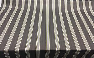 P kaufmann Williamsburg Fincastle Herringbone Charcoal Stripe fabric By the yard