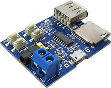 2pcs TF/U disk MP3 Format decoder board amplifier decoding audio Player module