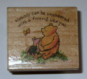 Nobody Can Be Uncheered With A Friend Like You Winnie The Pooh Classic Disney