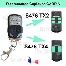 Télécommande compatible CARDIN S476TX2 S476TX4 badge Bip porte de garage portail