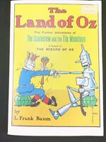 The Land of Oz: Adventures of Scarecrow and Tin Woodman 1956 L. Frank Baum PB