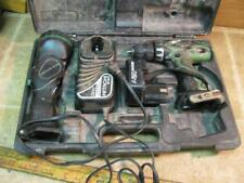 Hitachi 12 Volt Driver Drill Flashlight with Case & nonworking Battery & Charger
