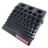 Universal Aufbewahrungsbehälter Kunststoffbox mit 85 Löcher für Fräser